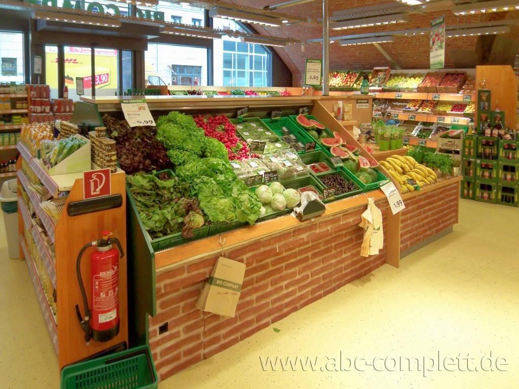 Ansicht des Geschäfts: Bio Company, lt. Referenzen Bio Supermarkt, Berlin / diverse, Foto 10
