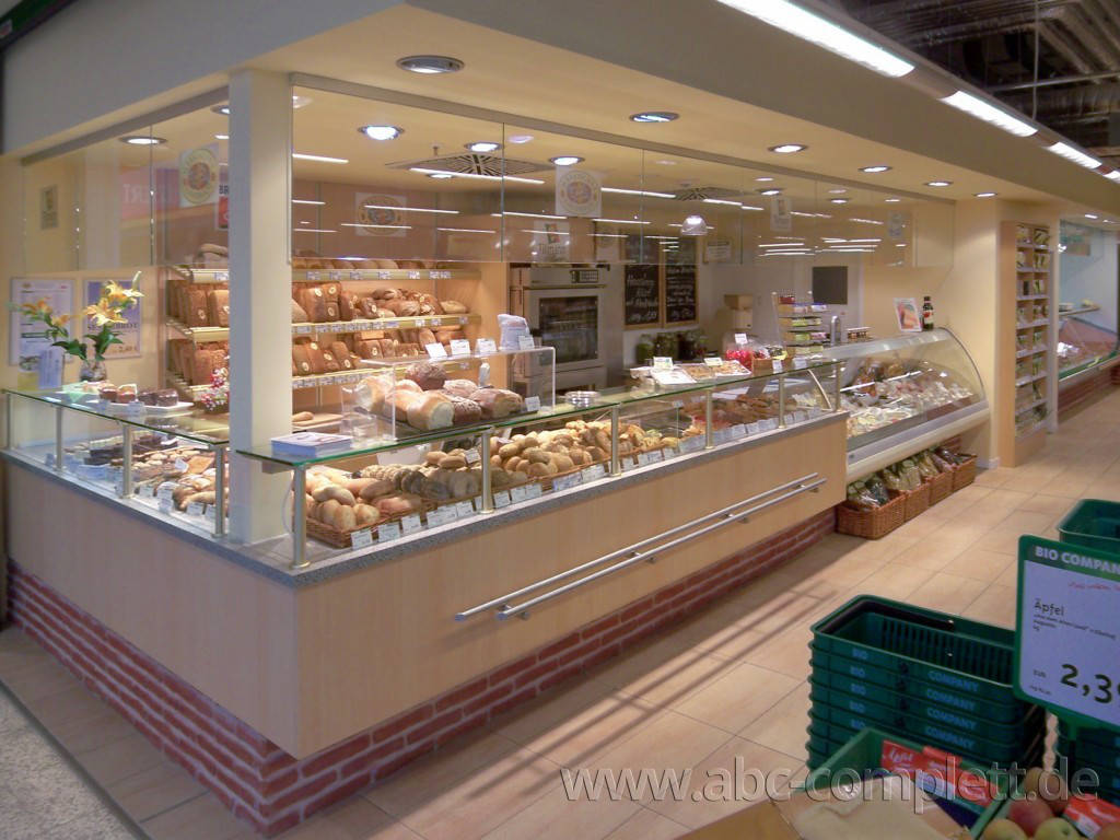 Ansicht des Geschäfts: Bio Company, lt. Referenzen Bio Supermarkt, Berlin / diverse, Foto 15