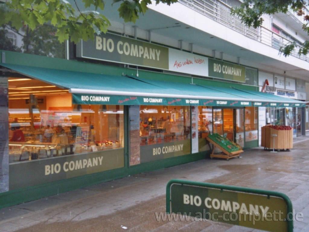 Ansicht des Geschäfts: Bio Company, lt. Referenzen Bio Supermarkt, Berlin / diverse, Foto 1