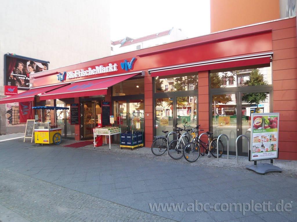 Ansicht des Geschäfts: ViV BioFrischeMarkt, Warschauer Str, Berlin / Friedrichshain, Foto 1