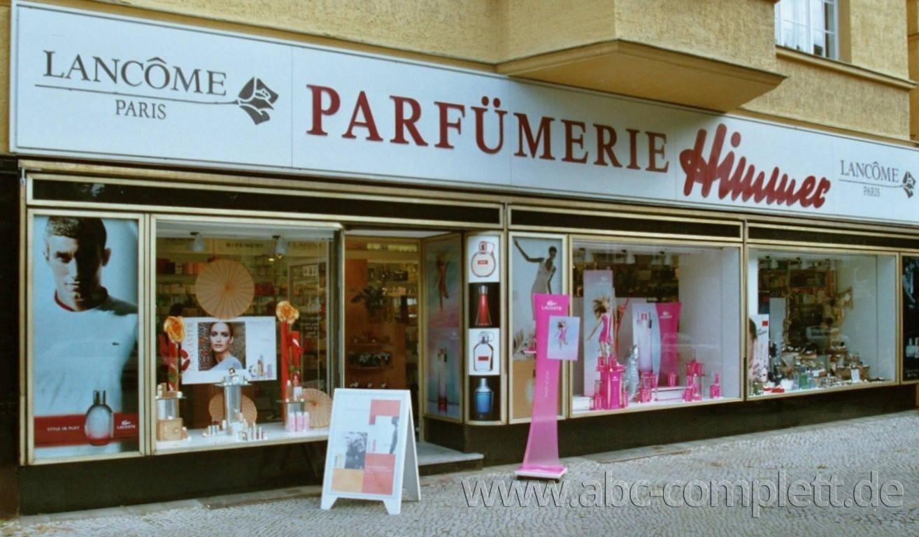 Ansicht des Geschäfts: Parfümerie Himmer, Berlin / Friedenau, Foto 1