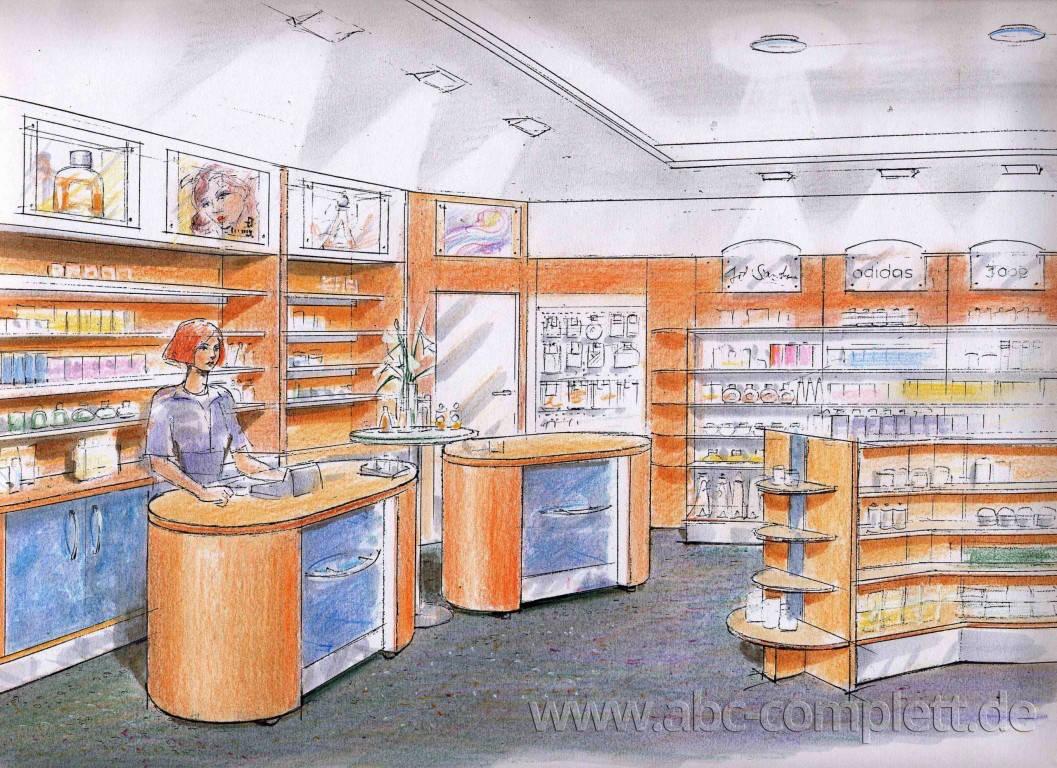 Ansicht des Geschäfts: Parfümerie Himmer, Berlin / Friedenau, Foto 2