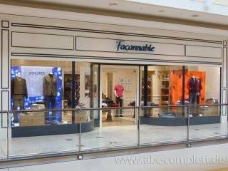 Ansicht des Geschäfts: Faconnable, Entwurf Faconnable Nice France, Hamburg / Alstertal Einkaufs-Zentrum, Foto 1