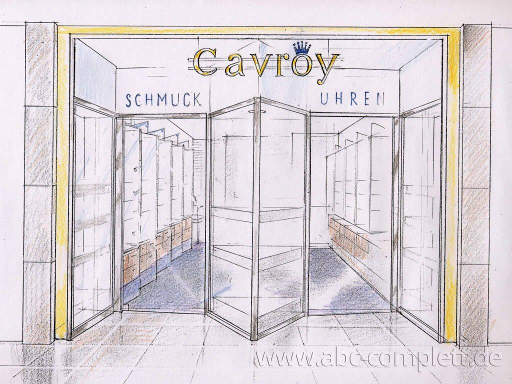 Ansicht des Geschäfts: Juwelier Cavroy, Schönhauser Allee Arcaden, Berlin / Prenzlauer Berg, Foto 3