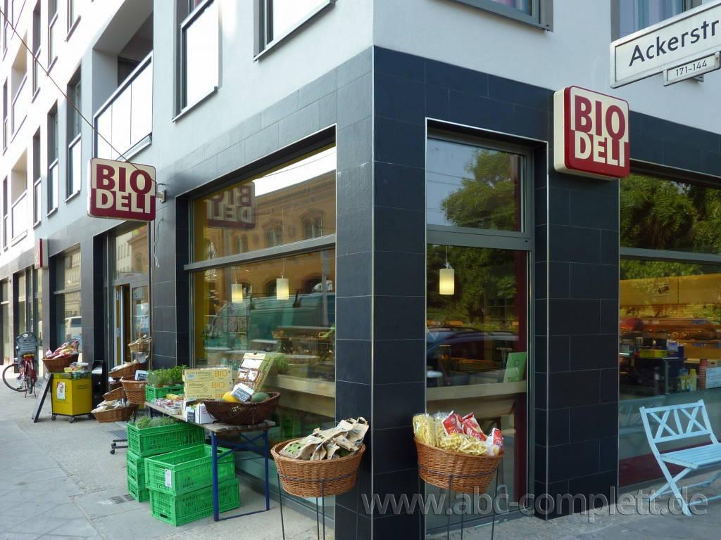 Ansicht des Geschäfts: Bio Deli, 2010, Berlin / Mitte, Foto 1