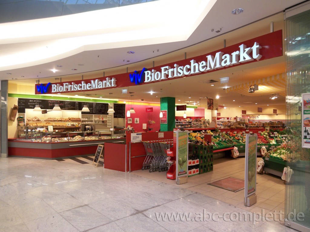 Ansicht des Geschäfts: ViV BioFrischeMarkt, Kröpeliner Tor Center, Rostock, Foto 1