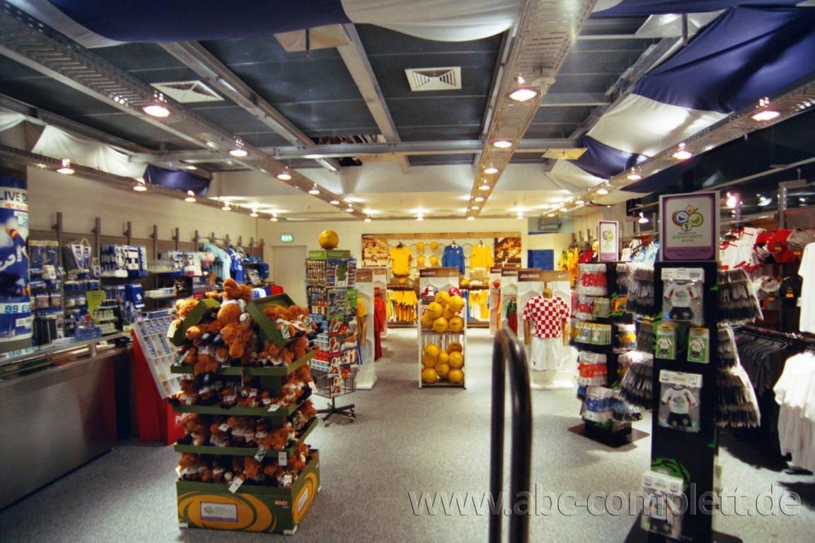 Ansicht des Geschäfts: Hertha BSC Fanshop, 7 Shops lt. Referenzliste, Berlin, Foto 2