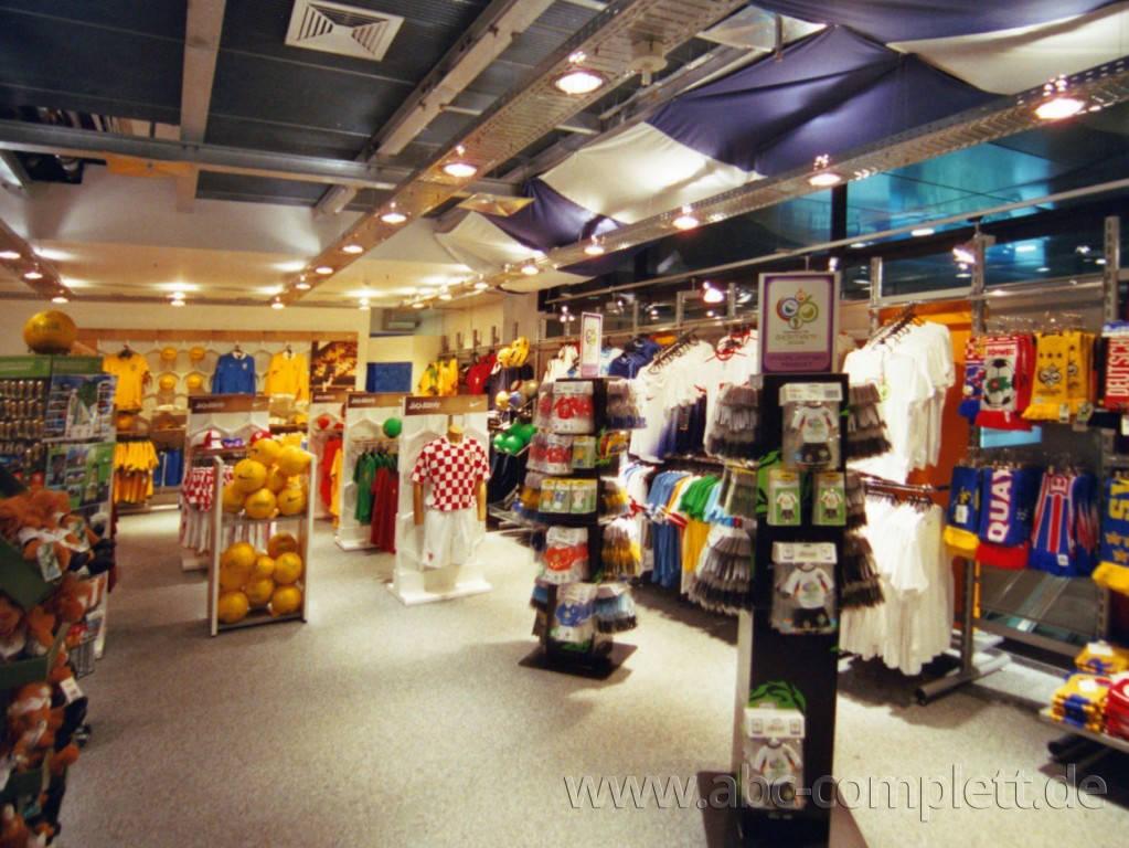 Ansicht des Geschäfts: Hertha BSC Fanshop, 7 Shops lt. Referenzliste, Berlin, Foto 3