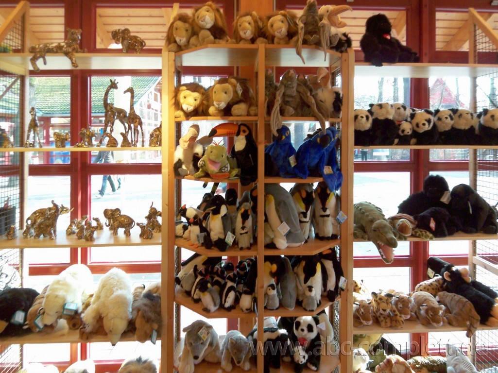 Ansicht des Geschäfts: Souvenirshop, Zoo Berlin, Berlin / Charlottenburg, Foto 1