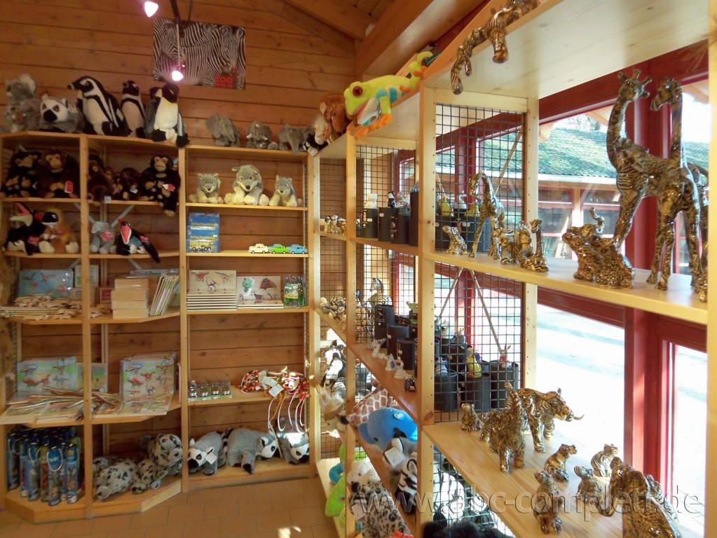 Ansicht des Geschäfts: Souvenirshop, Zoo Berlin, Berlin / Charlottenburg, Foto 2