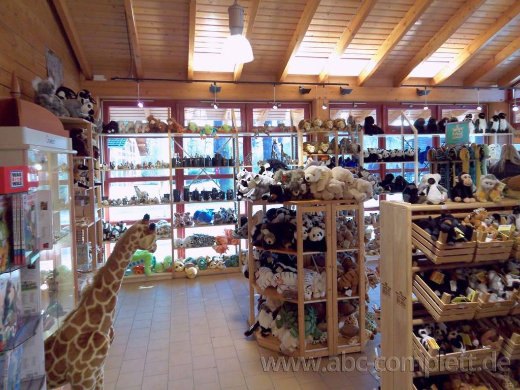 Ansicht des Geschäfts: Souvenirshop, Zoo Berlin, Berlin / Charlottenburg, Foto 6