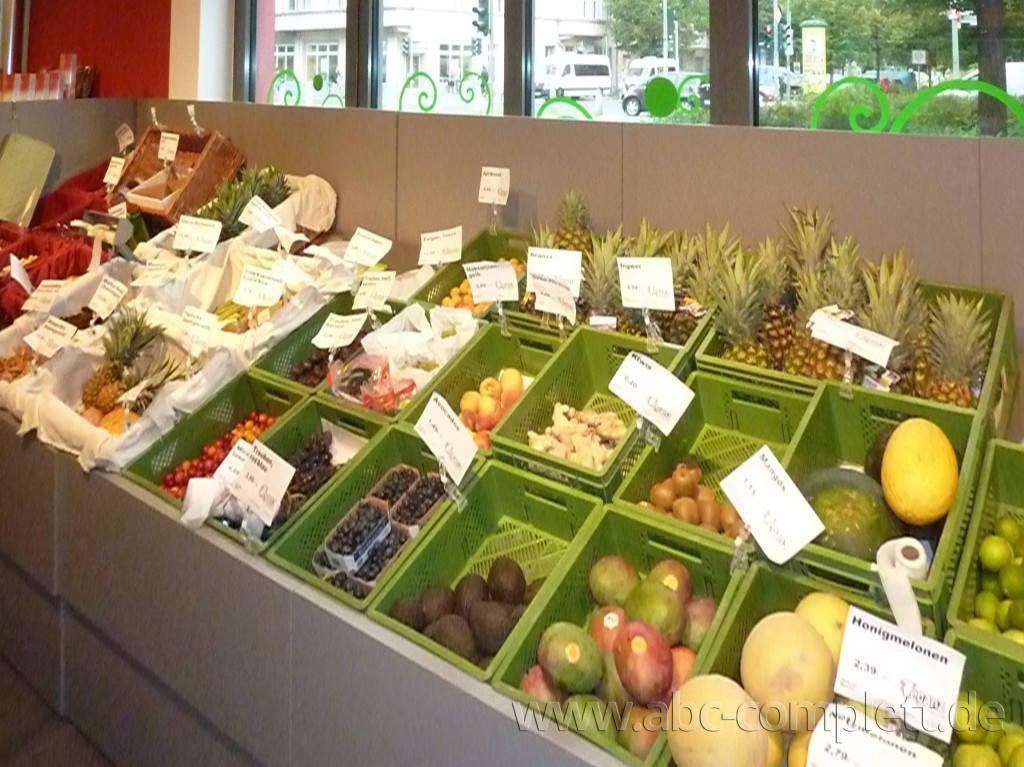 Ansicht des Geschäfts: Veganz wir lieben leben, veganer Supermarkt, Berlin / Prenzlauer Berg, Foto 6