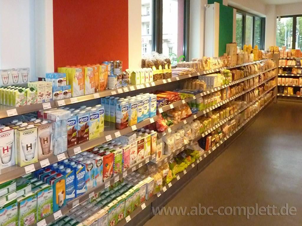 Ansicht des Geschäfts: Veganz wir lieben leben, veganer Supermarkt, Berlin / Prenzlauer Berg, Foto 8