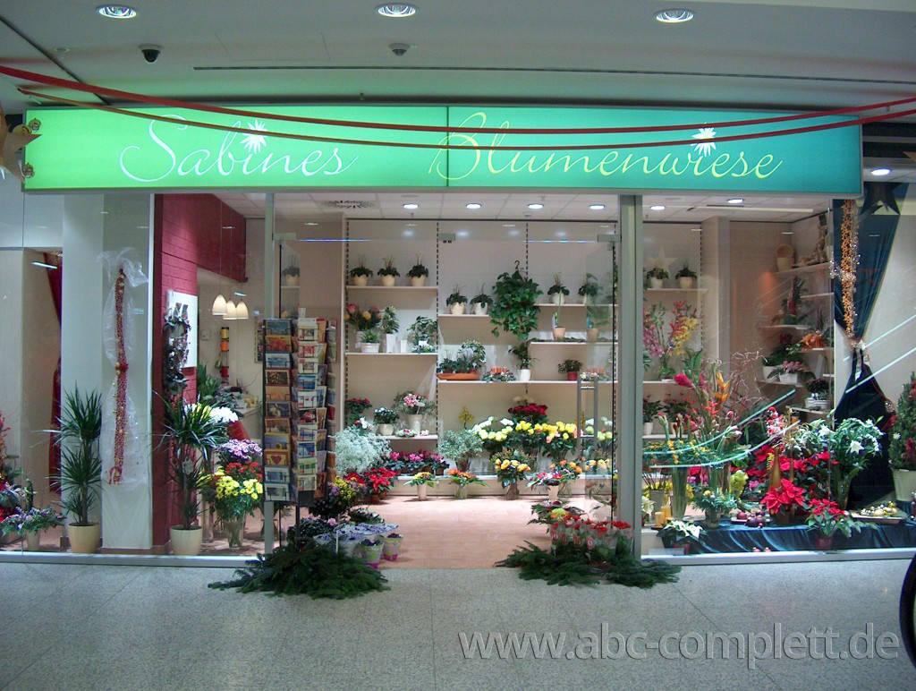 Ansicht des Geschäfts: Sabines Blumenwiese, Rathaus Center, Berlin / Pankow, Foto 2