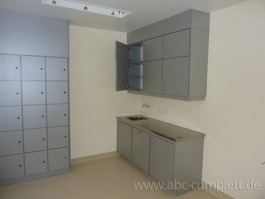 Ansicht des Geschäfts: Jüdisches Krankenhaus Berlin   JKB, Funktionsschränke Holz, Berlin / Wedding, Foto 1