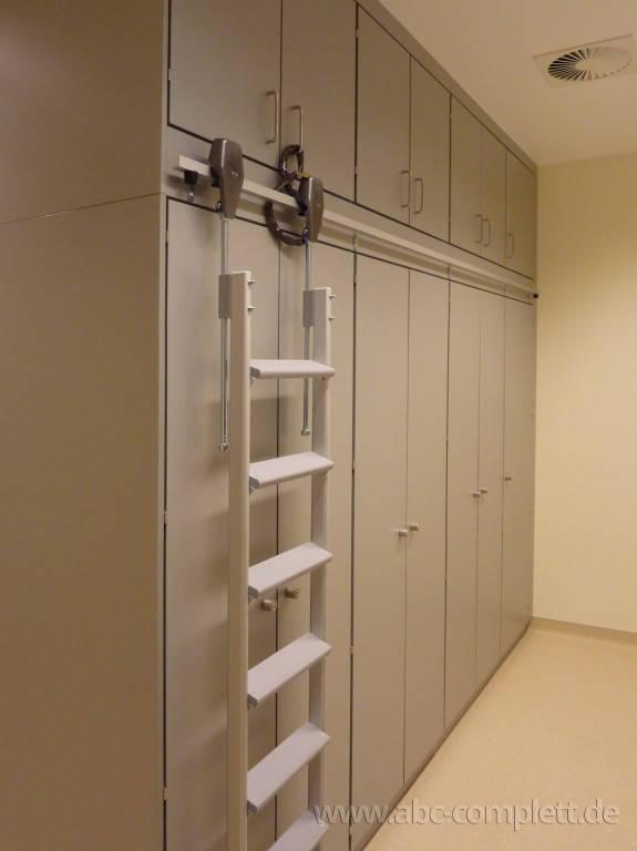 Ansicht des Geschäfts: Jüdisches Krankenhaus Berlin   JKB, Funktionsschränke Holz, Berlin / Wedding, Foto 3