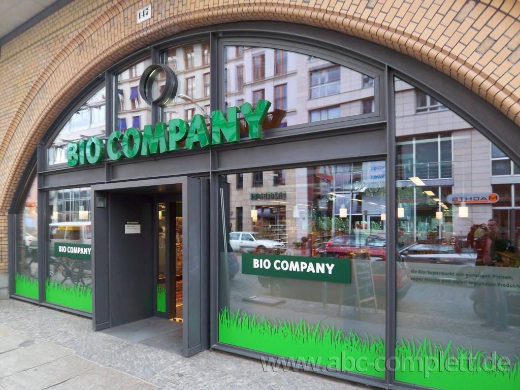 Ansicht des Geschäfts: Bio Company, Dircksenstrasse, Berlin / Mitte, Foto 1
