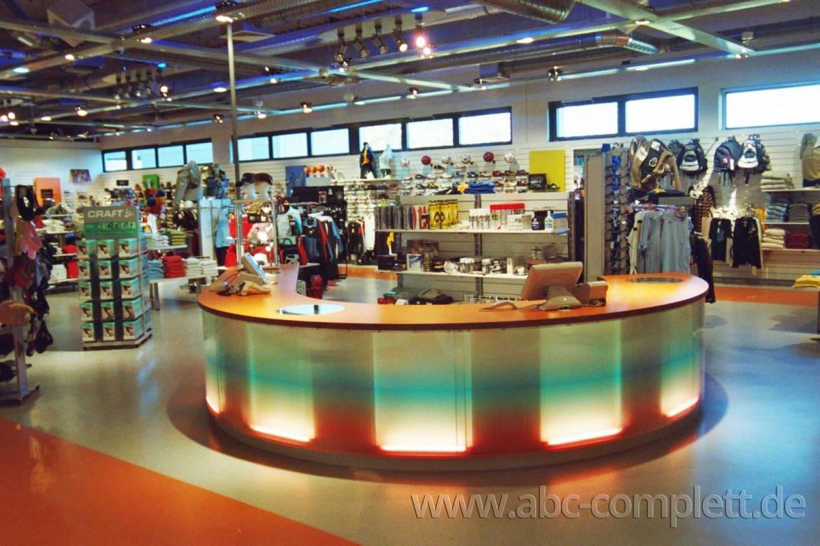 Ansicht des Geschäfts: Down Town Sports, Bahnhof Center, Bernau, Foto 1