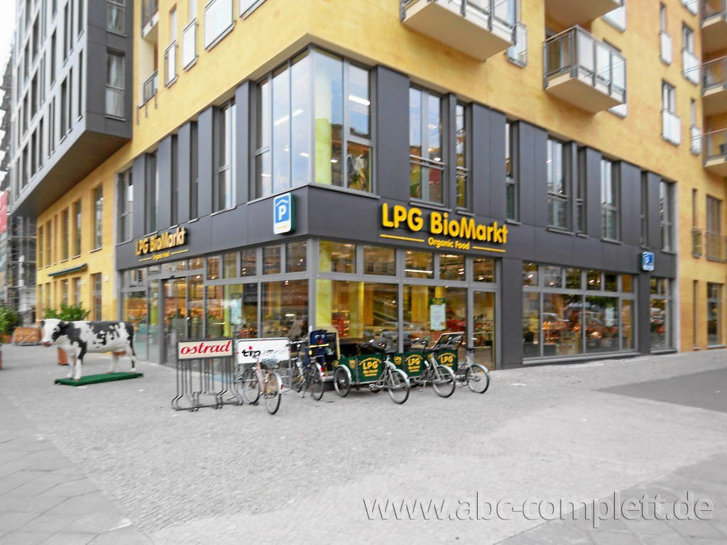 Ansicht des Geschäfts: LPG Biomarkt   lecker preiswert gesund, Kollwitzstrasse, Berlin / Prenzlauer Berg, Foto 1