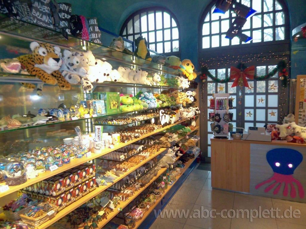 Ansicht des Geschäfts: Souvenirshop, Aquarium im Zoo Berlin, Berlin / Charlottenburg, Foto 3