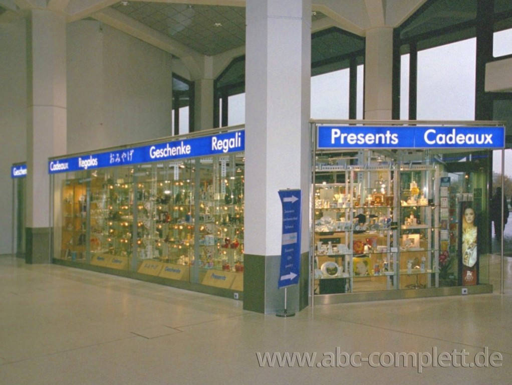 Ansicht des Geschäfts: berlin berlin Exclusiv, Haupthalle FlughafenTegel, Berlin / Tegel, Foto 4