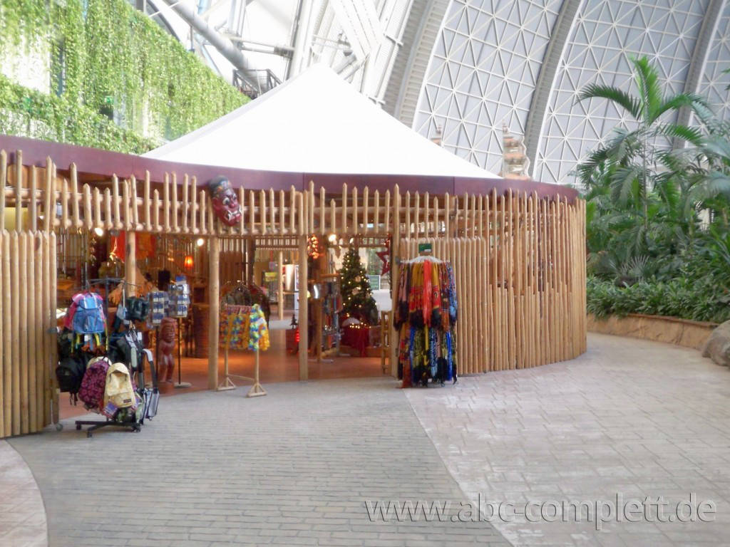 Ansicht des Geschäfts: div. Merchandising Shops, Tropical Islands, Krausnick (Brandenburg), Foto 2