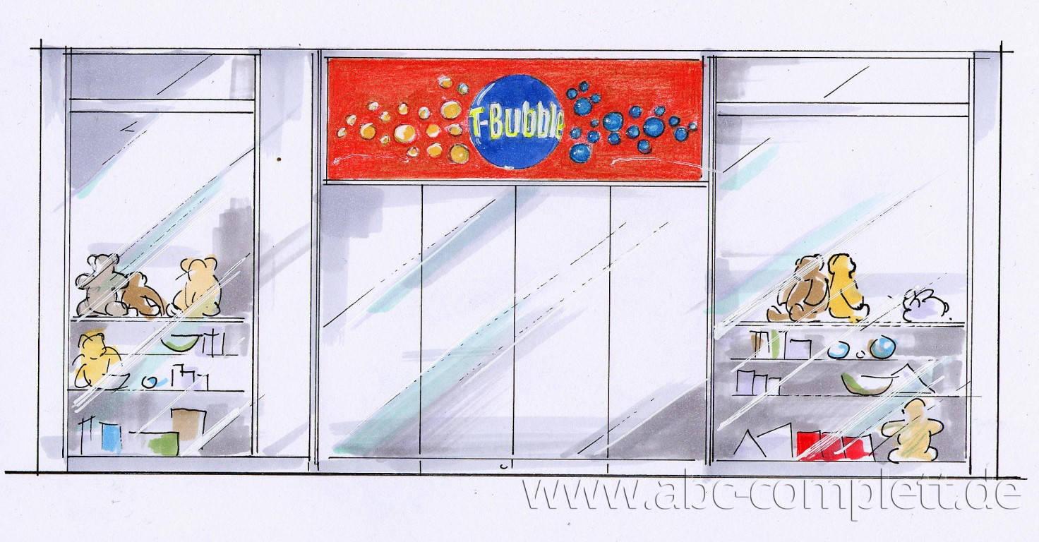 Ansicht des Geschäfts: T-Bubble, Potsdamer Platz Arcaden / Eastgate, Berlin, Foto 2