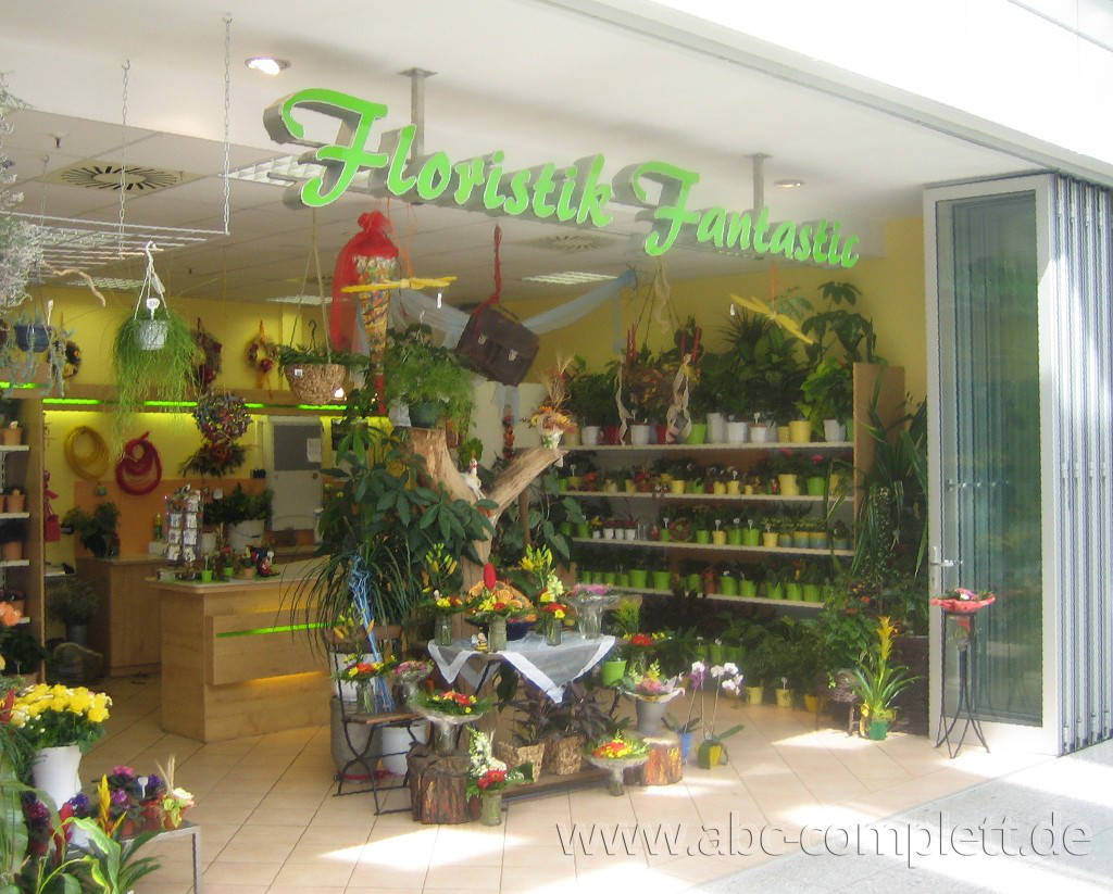 Ansicht des Geschäfts: Floristik Fantastic, Oder Center, Schwedt, Foto 1