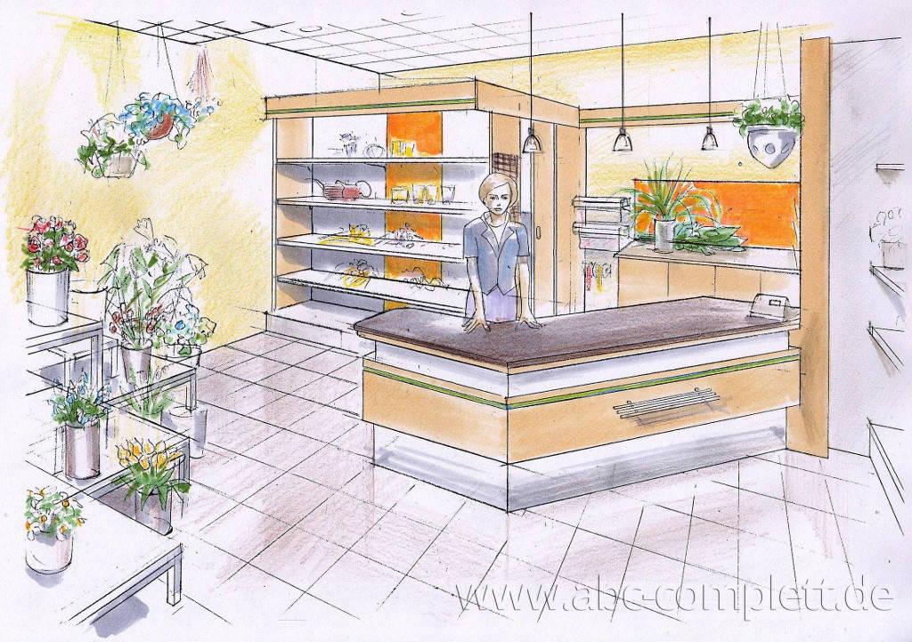 Ansicht des Geschäfts: Floristik Fantastic, Oder Center, Schwedt, Foto 3