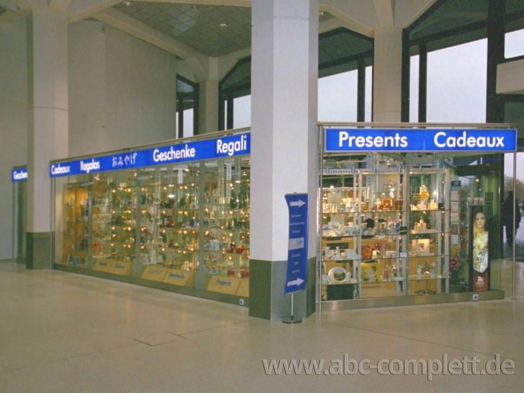 Ansicht des Geschäfts: BerlinBerlin Exclusiv, Haupthalle Flughafen Tegel, Berlin / Tegel, Foto 4