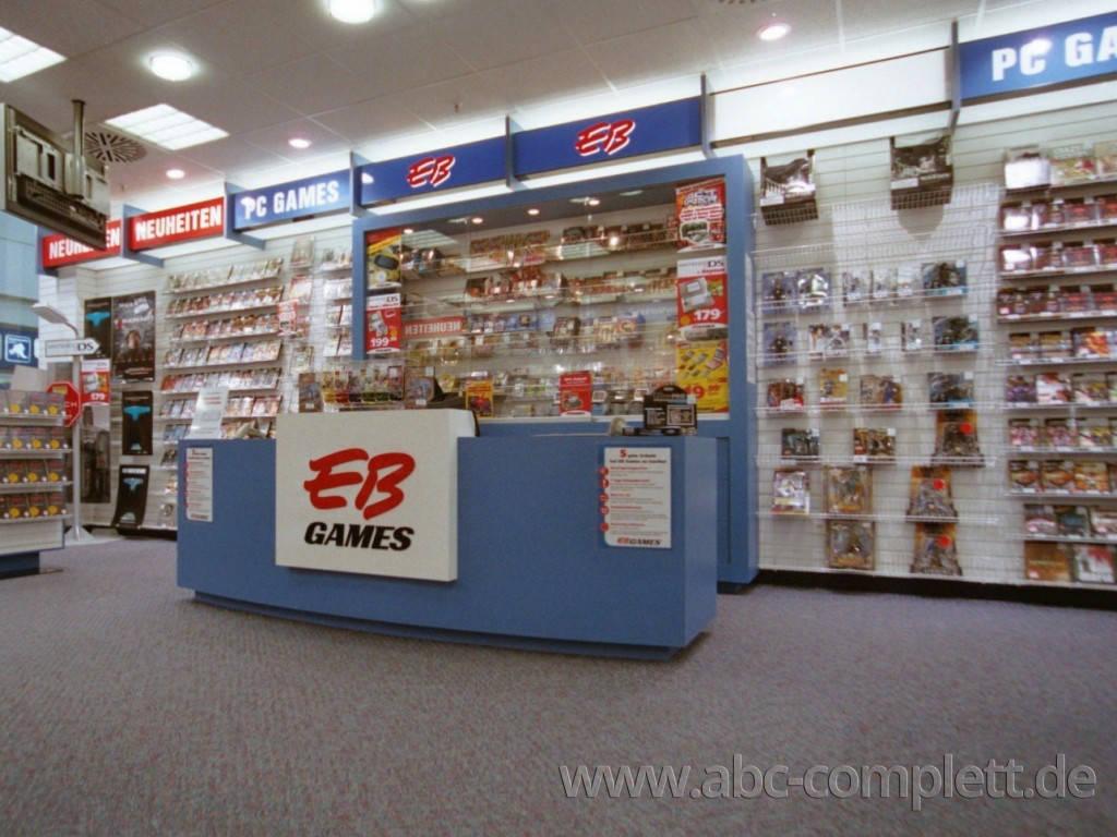 Ansicht des Geschäfts: GamesStop / EB Games, Design by Retail Partner, deutschlandweit 40 Filialen lt. Referenzliste, Foto 2