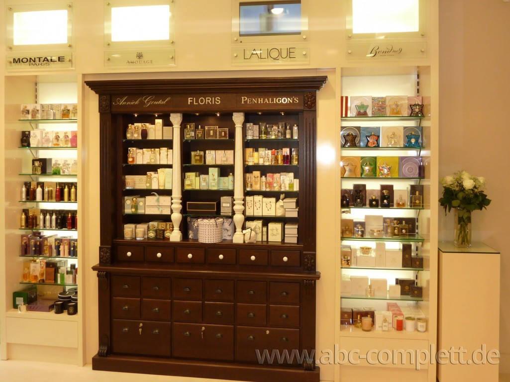 Ansicht des Geschäfts: Delfi Parfümerie, 2010 Design by Tulpa Group, Berlin / Charlottenburg, Foto 5