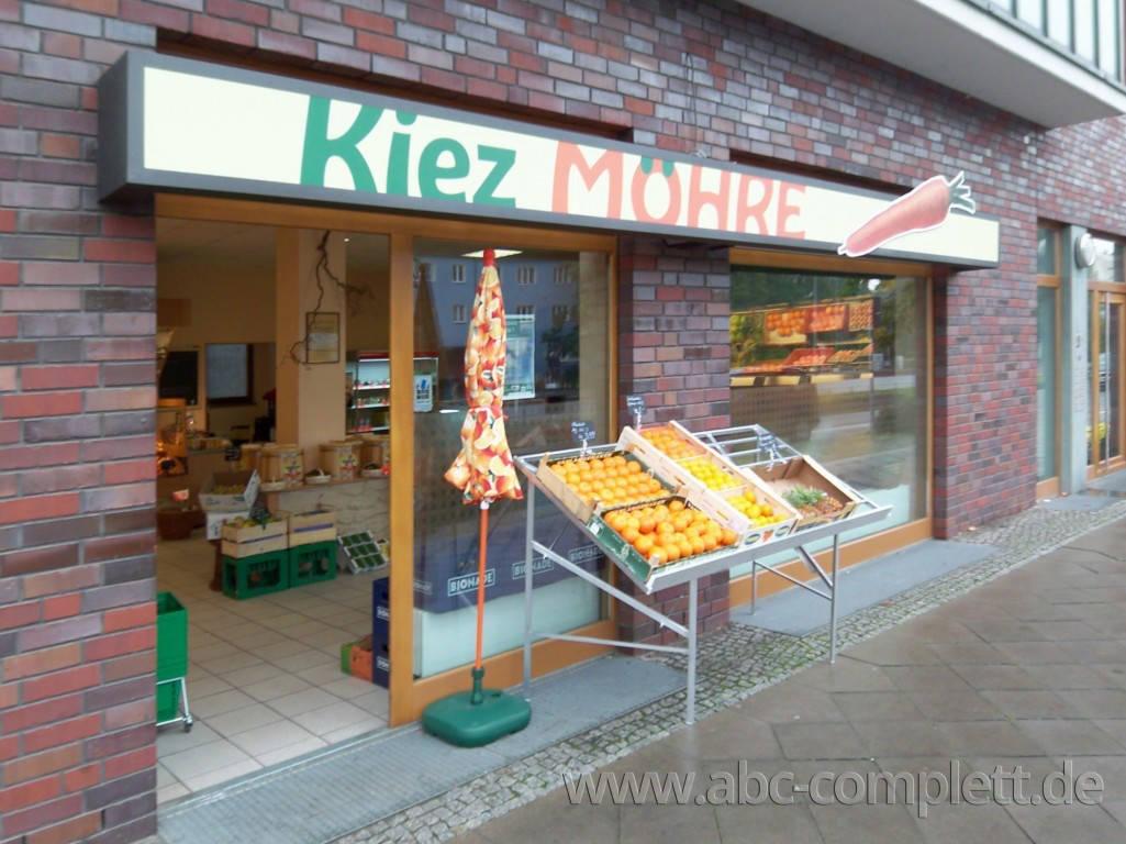 Ansicht des Geschäfts: Kiez Möhre, Obst & Gemüse, Berlin / Lichtenberg, Foto 1