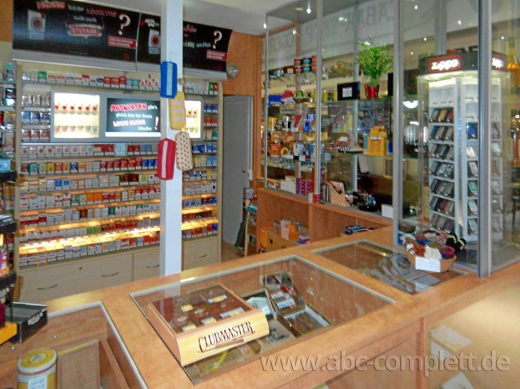 Ansicht des Geschäfts: Tabak-Shop Hegerlik, Markthalle am Marheinekeplatz, Berlin / Kreuzberg, Foto 4