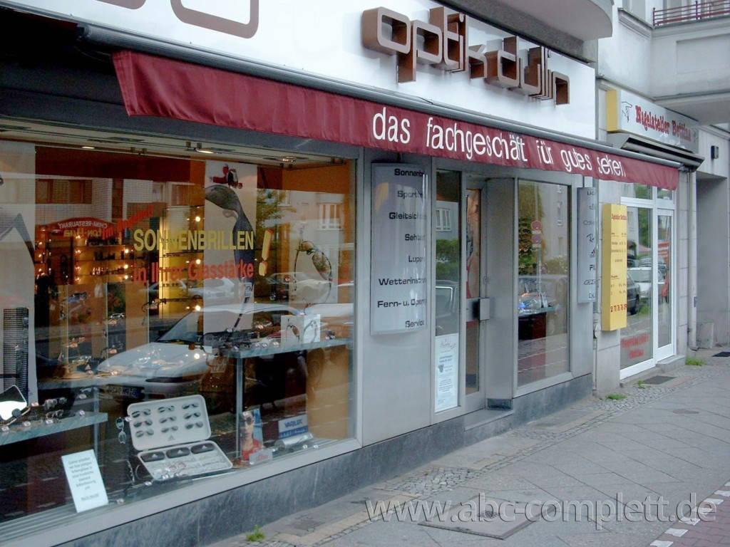 Ansicht des Geschäfts: Augenoptik Dullin, Berlin / Mariendorf, Foto 6