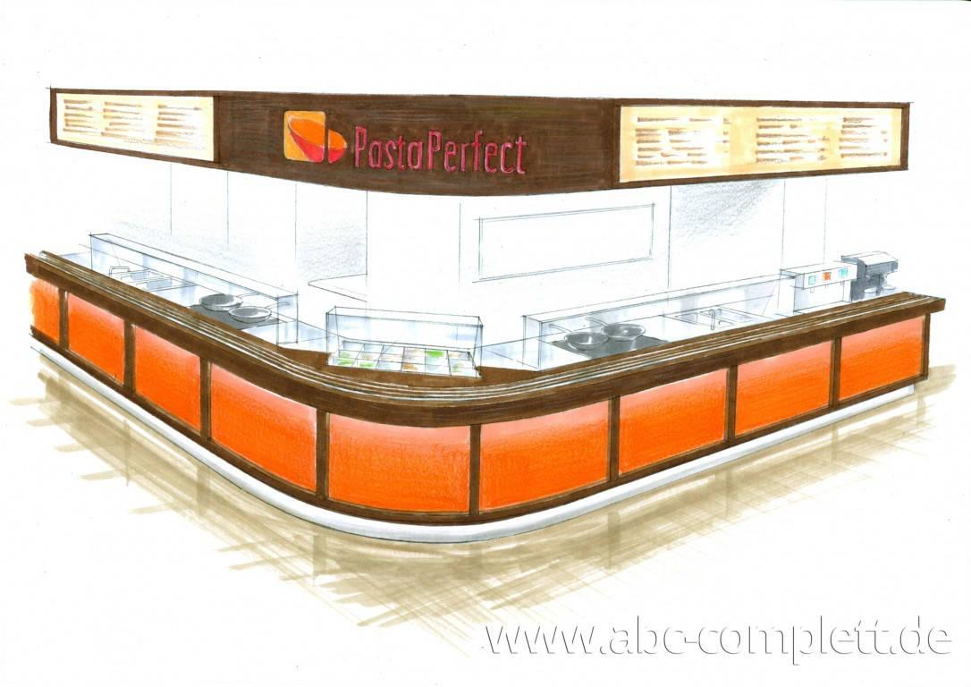 Ansicht des Geschäfts: Pasta Perfect, System Gastronomie, Berlin / Wilmersdorf, Foto 2