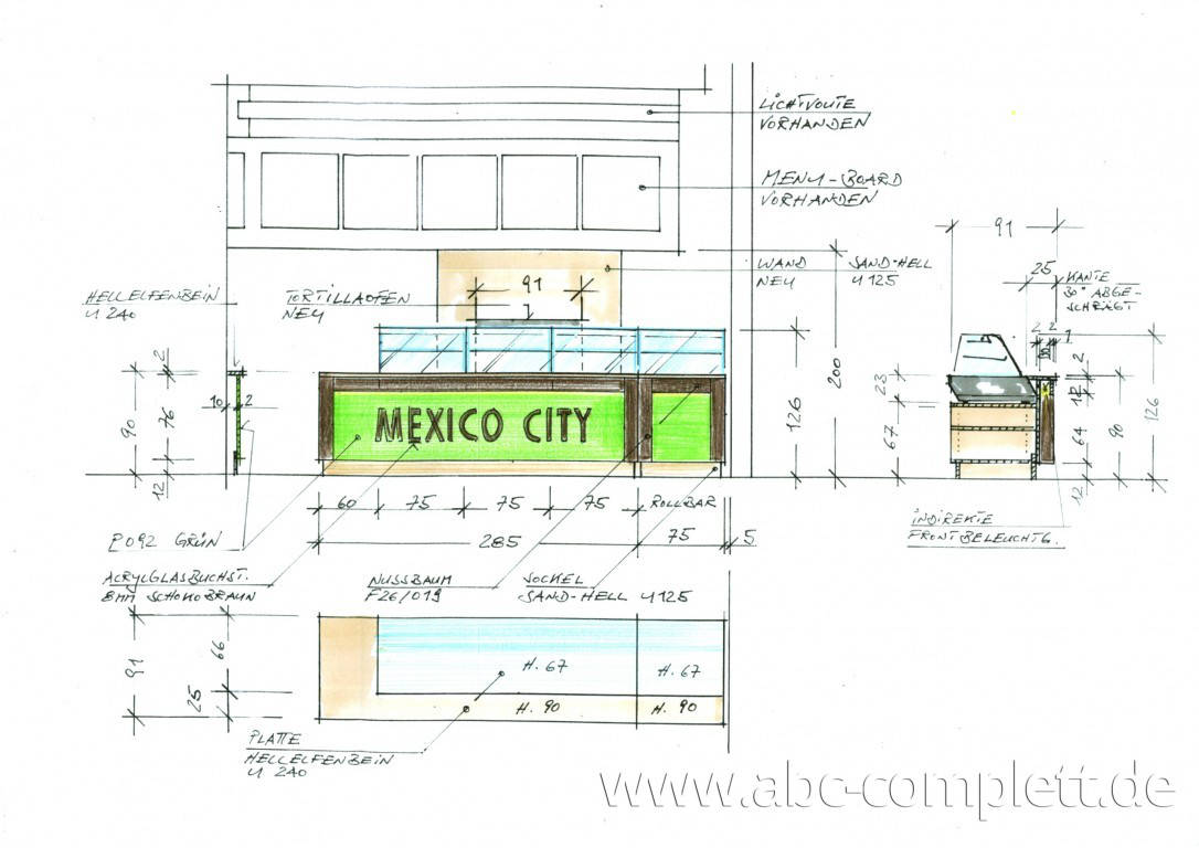 Ansicht des Geschäfts: Mexico City, Das Schloss, Berlin / Steglitz, Foto 2