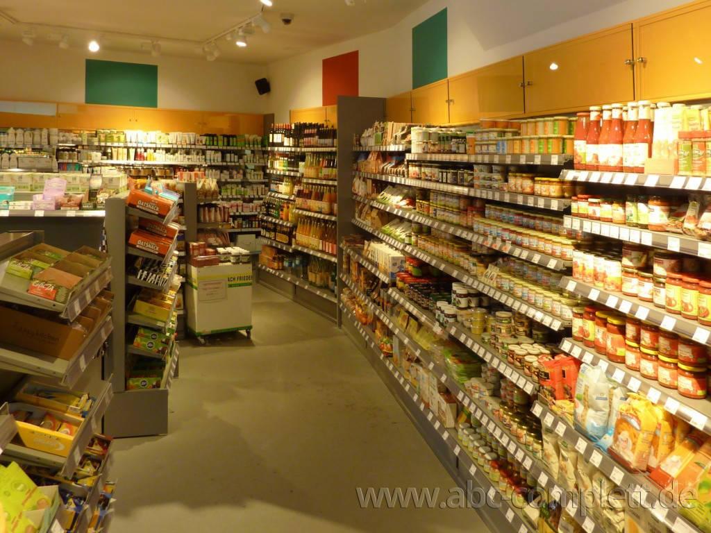 Ansicht des Geschäfts: Veganz wir lieben leben, veganer Supermarkt, Frankfurt am Main, Foto 4