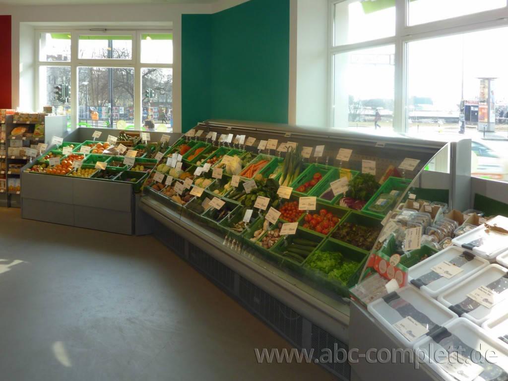Ansicht des Geschäfts: Veganz wir lieben leben, veganer Supermarkt, Berlin / Friedrichshain, Foto 3