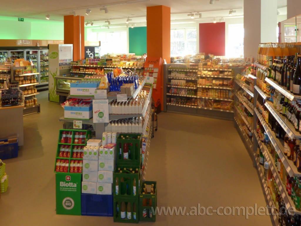 Ansicht des Geschäfts: Veganz wir lieben leben, veganer Supermarkt, Berlin / Friedrichshain, Foto 5