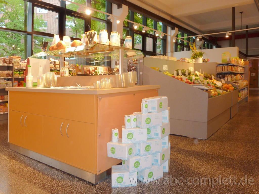 Ansicht des Geschäfts: Veganz wir lieben leben, veganer Supermarkt, Hamburg / Altona, Foto 3