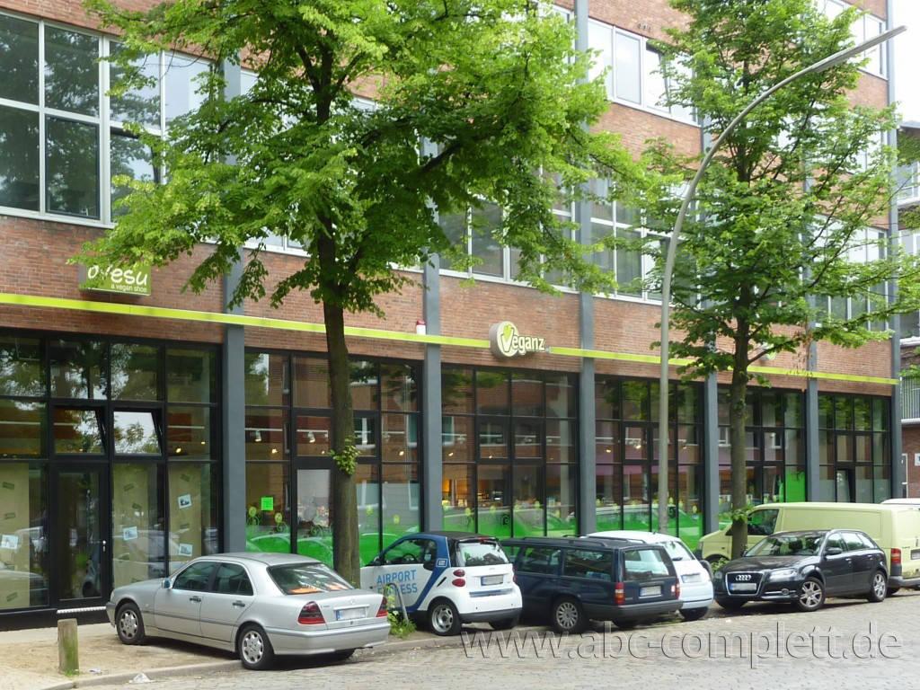 Ansicht des Geschäfts: Veganz wir lieben leben, veganer Supermarkt, Hamburg / Altona, Foto 5