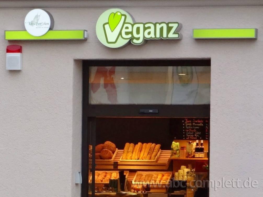 Ansicht des Geschäfts: Veganz wir lieben leben, veganer Supermarkt, München / Glockenbachviertel, Foto 1