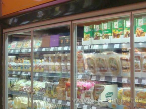 Ansicht des Geschäfts: Veganz wir lieben leben, veganer Supermarkt, München / Glockenbachviertel, Foto 4