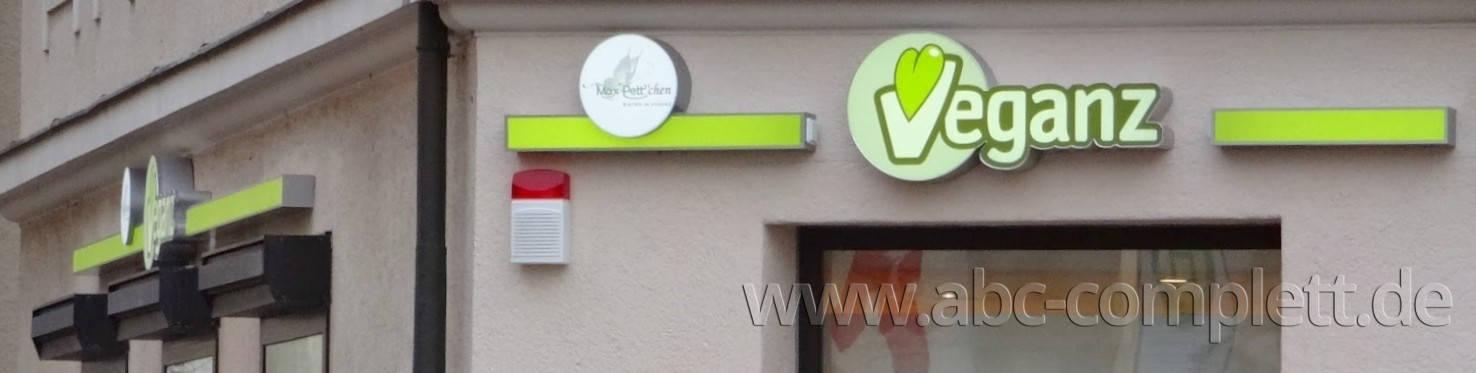 Ansicht des Geschäfts: Veganz wir lieben leben, veganer Supermarkt, München / Glockenbachviertel, Foto 9