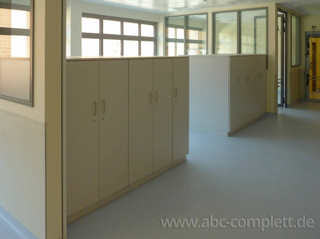 Ansicht des Geschäfts: Jüdisches Krankenhaus Berlin   JKB, Funktionsschränke Metall, Berlin / Wedding, Foto 3