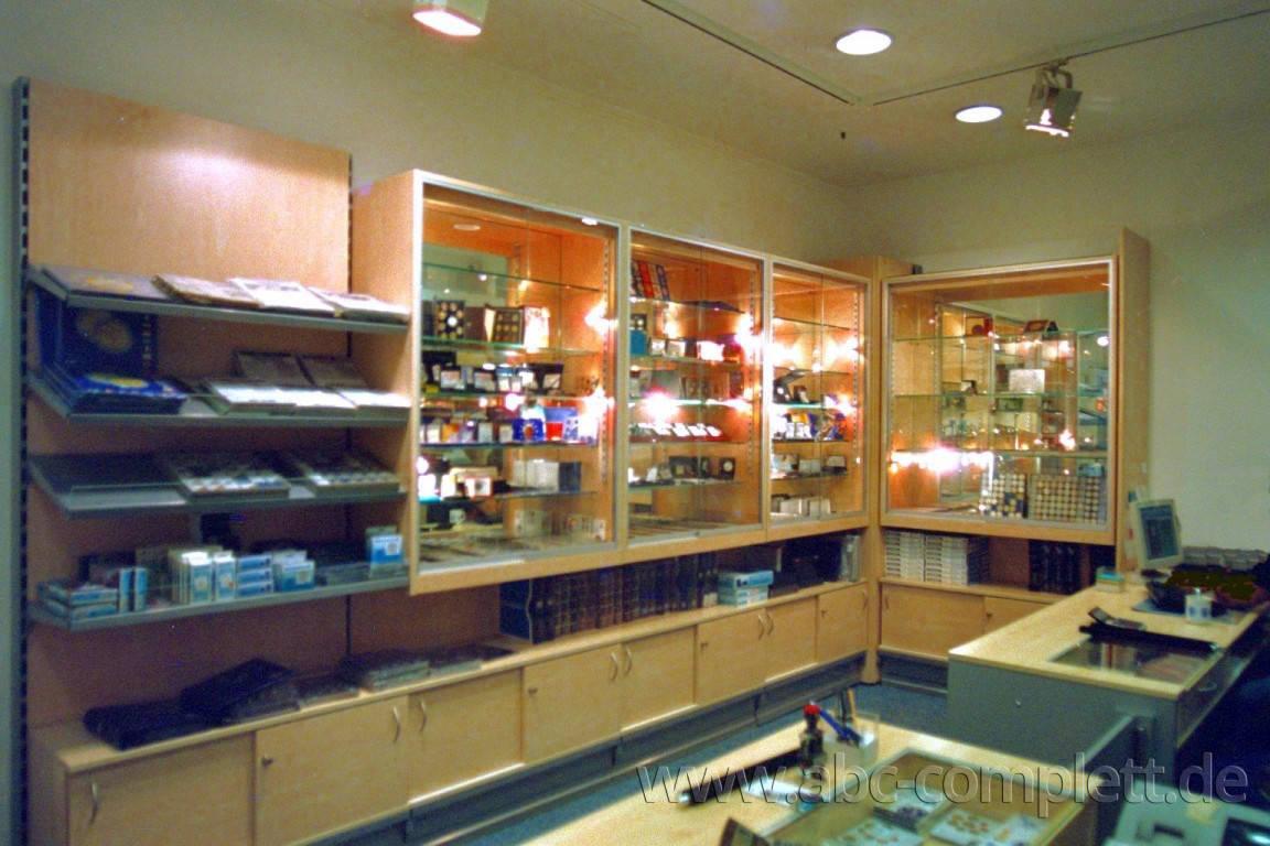 Ansicht des Geschäfts: Münzen und Scheine, Europacenter, Berlin / Charlottenburg, Foto 2