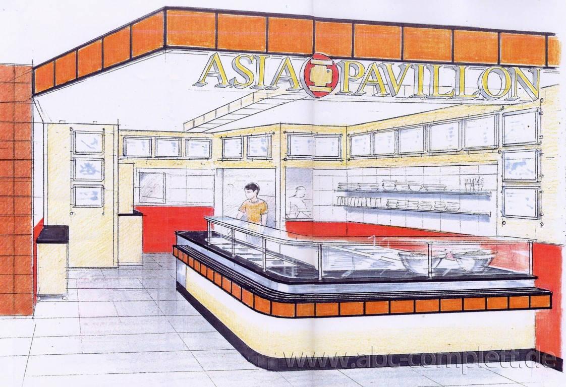 Ansicht des Geschäfts: Asia Pavillon, Potsdamer Platz Arcaden, Berlin / Mitte, Foto 2