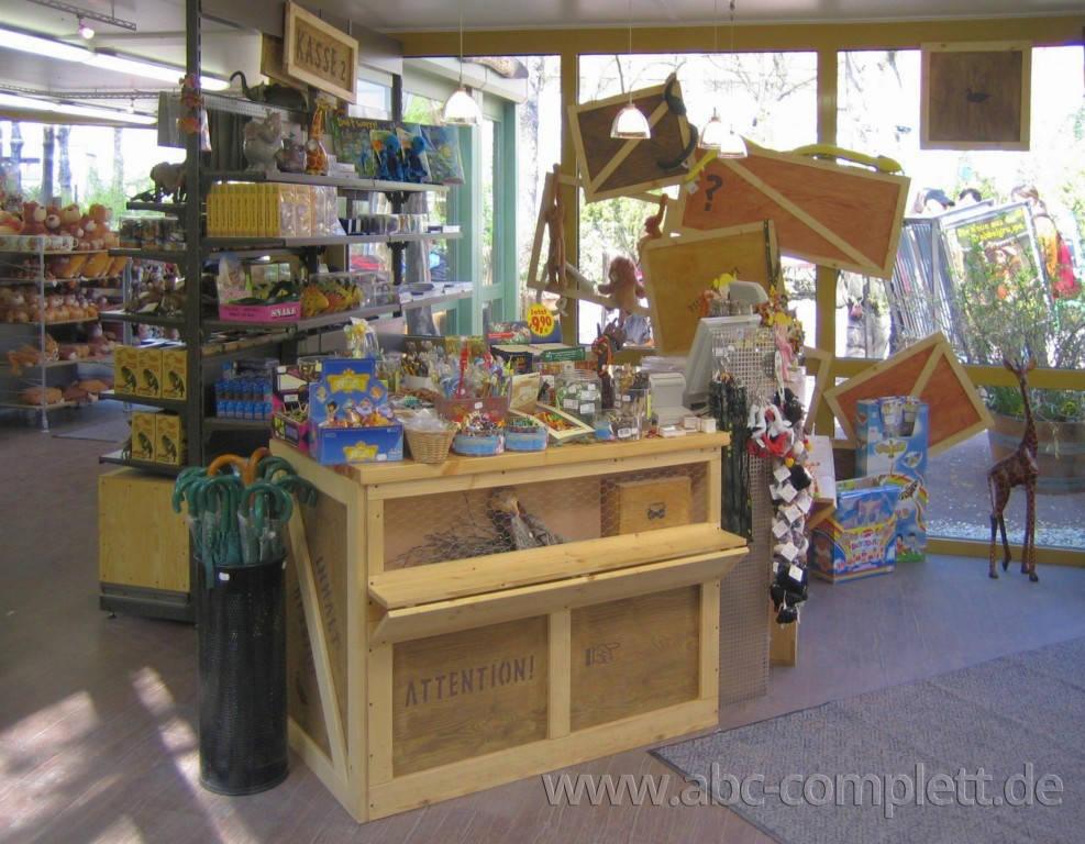 Ansicht des Geschäfts: Safari-Shop, Zoo Leipzig, Leipzig, Foto 2