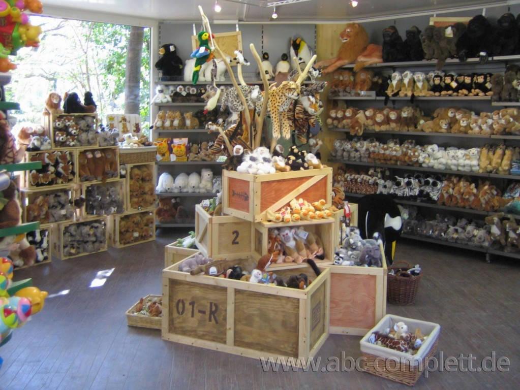 Ansicht des Geschäfts: Safari-Shop, Zoo Leipzig, Leipzig, Foto 4